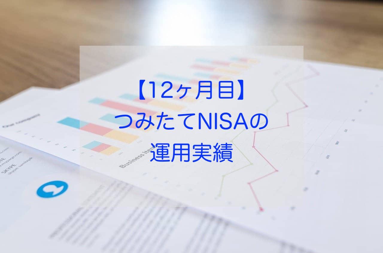 つみたてNISA12ヶ月の運用実績